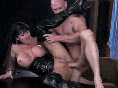 Busty slut Eva Karera having intensive pelasure with hunk Johnny Sins in dirty hardcore