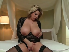 David Perry has large enough dick to satisfy Silvie Wild with her powerful large boobs