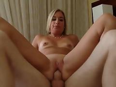 MILF Älterer Mama Blondine