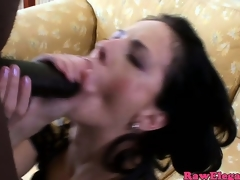 Glamcore petite euro whore loves bbc drilling her