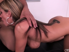 Kristal Summers acquire her wish with a big dark dick to nibble on