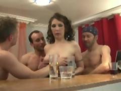 amatør moden strømper anal