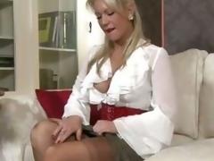Amateur MILF Blondine Einheitliche