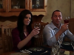 India Summer is a gorgeous woman with a family. But she likes to try something new in her sexual life. Thats why she invited her old ally for dinner and banged him after.