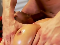 Charley Chase just finished her work and decided to go for a concupiscent oiled massage, this athletic guy will fuck that bitch in all of her tight holes like never before, take a look!
