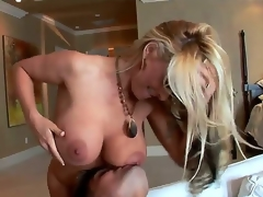 Milf Paramours out there.We got the sweet Holly . This milf has an amazing figure on her and she is ready for some youthful cock. The so ever fortunate Sergio receives the blonde goddess.