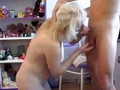 Very Hot Mom Seducing Schoolboy