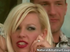 Hot comme ci slut gets horny talking