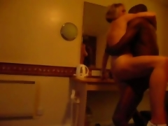 she is cuckold fucked by a black dude hard