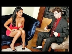 Priya's ally recommends her to watch Dr. Deen, her trusty psychologist.  This Hottie gives a decision to pay him a visit and after rambling about her problems the doctor quickly realizes exactly what the solution is. That Boy informs her that that babe suffers from Large Cockism and rightfully so, this guy prescribes her one chunky weenie to swallow.