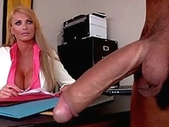 moden blonde handjob stor kuk