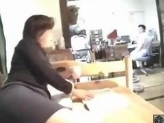 Mature Japanese Woman Fuck Her Colleague