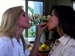 have a fun lesbian love of 2 beautiful matures Julia Ann and Lisa Ann