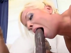 Dirty bitch named Jordan Blue gets a big black cock in her sweet pussy