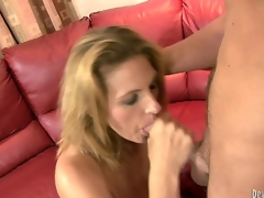 MILF Grosse Titten Blowjob Deep