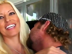 This ardent blonde milf not ever misses a chance of being fucked hard. This time it wasnt difficult for the hunter to seduce her to have wild screw. Watch what they are doing.