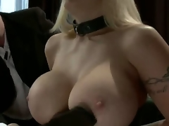 Candy Manson returns to porn after a two year break to do her 1st anal sex scene whilst in bondage!  In this role play update, Candy is in a D/s relationship with husband Mark