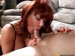 puling moden rødhårete fetish