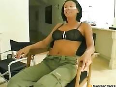brunette moden lingerie fetish