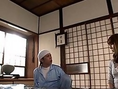 Hot mature chick Reiko Sawamura enjoys the rough stuff! She is tied and can't speak for the fingering and anal penetration! She receives her mouth open and that guy stuffs his cock in her mouth for a superb headfucking before this babe is held for a doggy style cunt banging and a load of cum on her face!