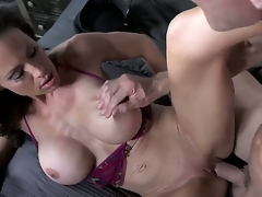 Johnny Sins is having a good time engulfing and pounding hot policewman McKenzie Lees beaver