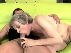 Hardcore Älterer Mama Grosse Titten