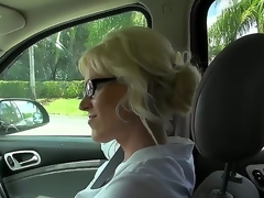 This milf is just awesome, coz she loves to fuck with strangers. Moreover, she is fond of doing it on camera and this day she is fucking for us. Just take a look how she sucks