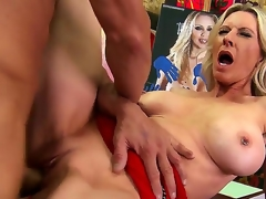 Emma Starr loves art big cocks. So lets combine these things and make her fully satisfied! Thats why Tommy Gunn is here. He actually wants to fuck Emma like a naughty whore