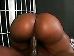 Cherokee D'Ass jail cell sex