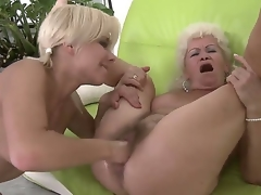 Passionate lesbian act with wicked girlfriends named Effie and Lisa