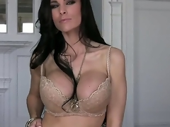 Busty MILF Laura Lee is looking superfine in that hawt lingerie and this babe looks even hotter as this babe gets rid of it and begins working on that tight cum-hole of hers. This babe has real skilled fingers.