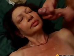 brunette puling moden sæd