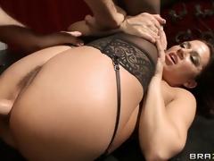 brunette hardcore milf anal