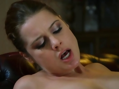 European mature MILF sucks young clothes-horse