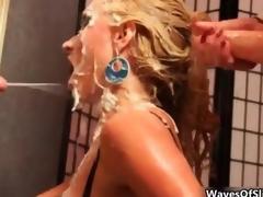 Cumshot Hardcore Strümpfe Sperma